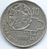 Czechoslovakia - Socialist Republic - 1966 - 10 Korun - 1100th Anniversary Of Great Moravia - KM61 - Czechoslovakia