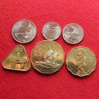 Cook Islands Set 10  20  50  Cents  1  2  5 $  2015 UNC - Cook Islands