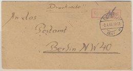 All.Bes. - Gebühr Bezahlt, Drucksachenbrief Eichstätt - Berlin 1946 - Allemagne
