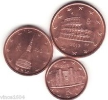 Italie 2019   1-2-5 Cent   (MINISET)   UNC Uit De BU  UNC Du Coffret  !! - Italie