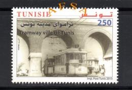 TUNISIA 2015 Tramway - Tramways