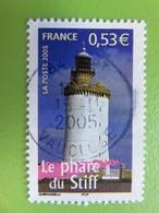 Timbre France YT 3822 - Portraits De Régions - La France à Voir - Le Phare Du Stiff - 2005 - Cachet Rond - Used Stamps
