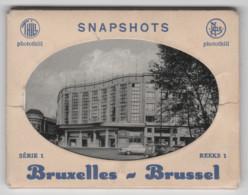 Belgique, Bruxelles, 10  Snapshots, Série 1, Dans Pochette Carton - Monumenti, Edifici