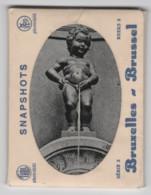 Belgique, Bruxelles, 10  Snapshots, Série 2, Dans Pochette Carton - Monumenti, Edifici