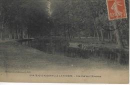 45 ( Loiret ) - Chateau D'AUGERVILLE LA RIVIERE - Une Vue Sur L'Essonne - Other Municipalities