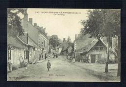 CPA 36 - Moulins Sur Céphons - Le Bourg - 1er Avril 1918 - Landureau 792 - France