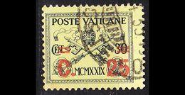 VATIKAN VATICAN [1931] MiNr 0016 ( O/used ) - Vatican