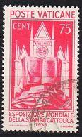 VATIKAN VATICAN [1936] MiNr 0055 ( O/used ) [02] - Vatican