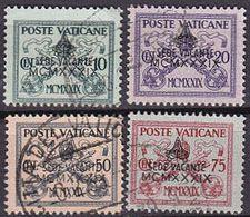 VATIKAN VATICAN [1939] MiNr 0073 Ex ( O/used ) [01] - Vatican