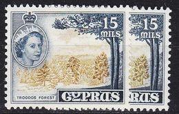 ZYPERN CYPRUS [1955] MiNr 0168 B ( **/mnh ) - Cyprus (...-1960)