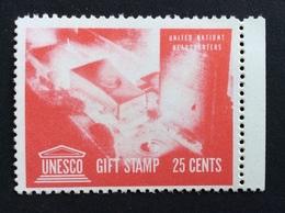 UNESCO GIFT STAMP 25 Cents   ETICHETTA PUBBLICITARIA   ERINNOFILO - Cinderellas