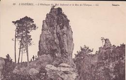83--06--L'ESTEREL--l'obélisque Du Mal Infernet Et Le Roc De L'évêque--voir 2 Scans - France