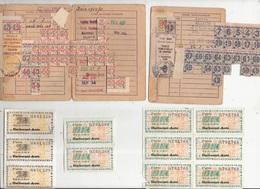 Carte D'Alimentation 92 Montrouge Person 1946 Tickets Carburant Auto Dix Deux Hauts De Seine - Documents Historiques