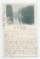 TRES RARE CPA 1900 SUISSE LE LAC DE MORGINS BE - VS Valais