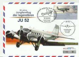 BDR CV 2010 JU-52 FLUGZUGE NR140 - Covers & Documents