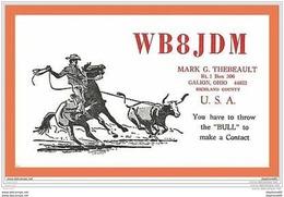 A173/101 GALION - OHIO Richland Country U.S.A. WB8JDM - Cartes Postales