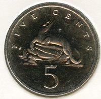 Jamaique Jamaica 5 Cents 1993 UNC KM 46a - Jamaique