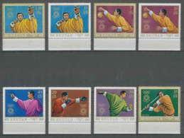 227 - Bhutan (bouthan) Mi ** MNH N° 514 / 521 A Jeux Olympiques (olympic Games) Munich 72 - Verano 1972: Munich