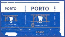 Portugal 1960 To 1970, Packet Of Cigarettes - PORTO / A Tabaqueira, Lisboa - Empty Cigarettes Boxes