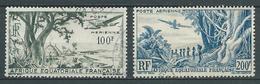 A.E.F 1947/52 . Poste Aérienne N°s 51 Et 52 . Oblitérés . - Oblitérés