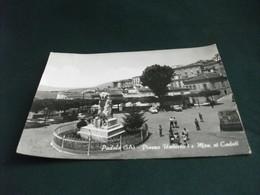 MONUMENTO AI CADUTI  Padula Salerno Piazza Umberto I CAMION GRUPPO BAMBINI PIEGHE - Monumenti Ai Caduti