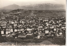 74 - ANNEMASSE - Vue Générale Aérienne; Dans Le Fond, Le Mont Blanc - Annemasse