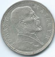 Czechoslovakia - 1928 - 10 Korun - 10th Anniversary Of Independence - Tomás Masaryk - KM12 - Czechoslovakia