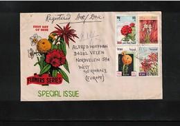 Nepal  Interesting Airmail Registered Letter - Nepal
