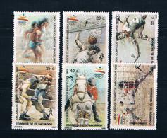 Salvador 1315-20 MNH Set Summer Olympics 1992 CV 10.45 (S1038) - El Salvador