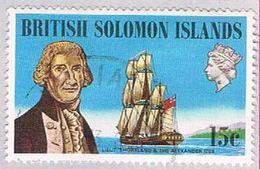 Solomon Islands 230 Used Philip Carteret 1972 (BP31212) - Solomon Islands (1978-...)