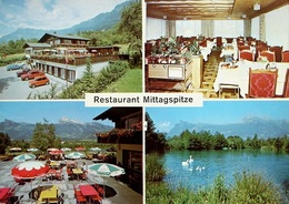 LAWENA TRIESEN Restaurant Mittagspitze Werbung Fritz Bless Flumserberg Auto - Liechtenstein