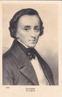 MUSIQUE-COMPOSITEUR--CHOPIN 1810-1849---voir 2 Scans - Música Y Músicos