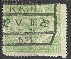 9S-773: N°TR102: KAIN // N° 1 - Bahnwesen