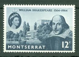 Montserrat: 1964   Shakespeare    MH - Montserrat