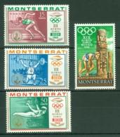 Montserrat: 1968   Olympic Games, Mexico    MH - Montserrat