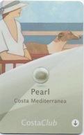 Carte Clé Cabine Croisière : Costa Mediterranea Pearl 2016 - Chiavi Elettroniche Di Alberghi