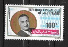 PA - 1971 - N° 111 **MNH - Gamal Abdel Nasser - Mauritania (1960-...)
