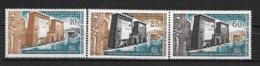PA - 1964 - N° 37 à 39 *MH - Sauvegarde Des Monuments De Nubie - Mauritanie (1960-...)