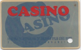 Carte Membre Casino : KKTC Chypre Du Nord (Turquie) - Casino Cards