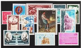 LKA257 FRANKREICH 1971 Michl 1735/37 + 1740/46 + 1748/49  ** Postfrisch SIEHE ABBILDUNG - Ungebraucht