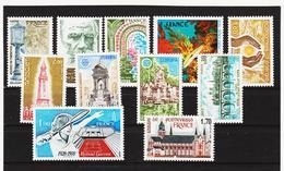 LKA260 FRANKREICH 1978 Michl 2092/99 + 2101/03 ** Postfrisch SIEHE ABBILDUNG - Frankreich