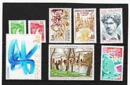 LKA250 FRANKREICH 1977 Michl 2012+2048+2051+2056/60 ** Postfrisch SIEHE ABBILDUNG - Frankreich