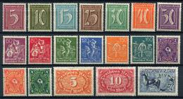 43573) DEUTSCHES REICH # 158-76 Postfrisch Aus 1921, 30.- € - Unused Stamps