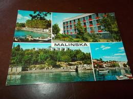 B719  Malinska Iugoslavia Viaggiata - Jugoslavia