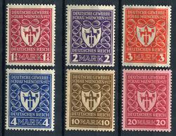 43576) DEUTSCHES REICH # 199-204 Postfrisch Aus 1922, 22.- € - Unused Stamps