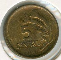 Pérou Peru 5 Centimos 1974 KM 244.3 - Pérou