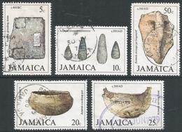 Jamaica. 1979 Arawak Artifacts (2nd Series). Used Complete Set. SG 479-483 - Jamaica (1962-...)