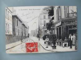 CPA Carte Postale Ancienne (Maisons) -alfort (seine) Rue Bourgelat - Maisons Alfort