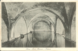 SIENA - FONTE BRANDA - INTERNO - FORMATO PICCOLO - VIAGGIATA 1917 - (rif. H56) - Siena