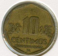 Pérou Peru 10 Centimos 2002 KM 305.4 - Pérou